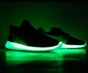 black, green, and hello image