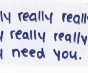 text, love, and need you image