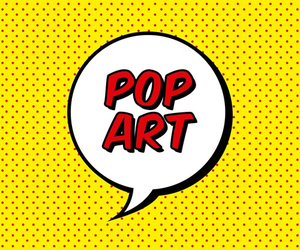 pop art, bubbles, and phrases image