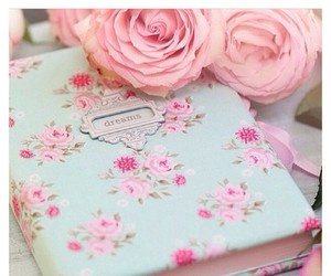 girly, vintage, and pastel image