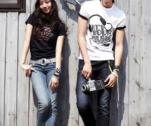 lee min ho and moon chae won image