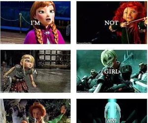 frozen, brave, and disney image
