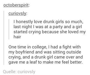 funny, tumblr, and drunk image