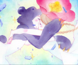 anime, kiss, and yuri kuma arashi image