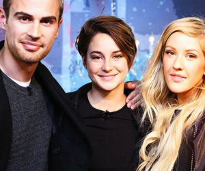 divergent, theo james, and Ellie Goulding image