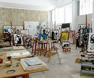 art and joan miro image