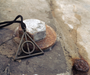deathly hallows, photography, and stone image