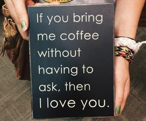 caffeine, coffee, and love image