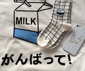 milk, aesthetic, and grunge image