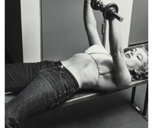 beatiful, strong, and marilyn image