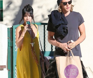couple, spotted, and vanessa hudgens image