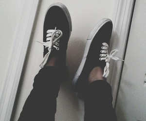 vans, grunge, and shoes image