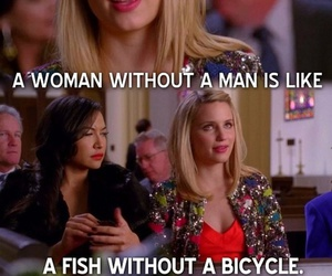 funny, glee, and quinn fabray image