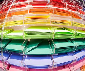 colors, Paper, and papers image