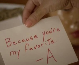 favorite, pretty little liars, and a image