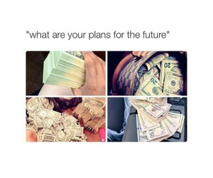 future, money, and goals image