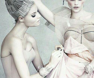 beautiful, glam, and hair image