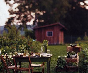 garden and rustic image