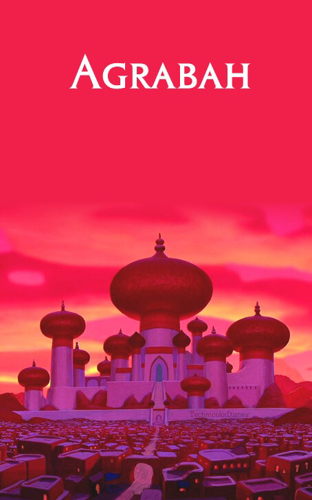 Princess Jasmine And Aladdin A Castle On We Heart It