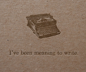 typewriter, quotes, and write image