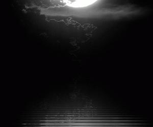 moon, night, and gif image