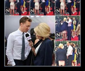 tom hiddleston, caballero, and villanos image