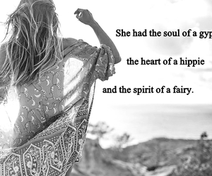 quote, fairy, and gypsy image
