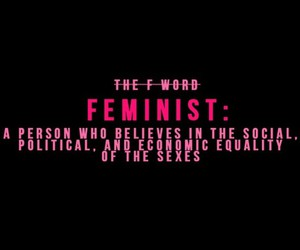 feminist, beyoncé, and feminism image