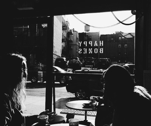 coffee, city, and friends image