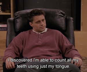 friends, funny, and joey tribbiani image
