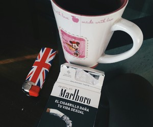 cigarrete, grunge, and london image