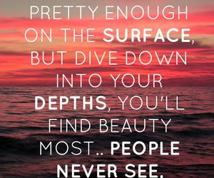 quotes, ocean, and beauty image
