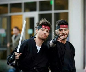 zayn malik, louis tomlinson, and one direction image