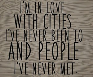 travel, quote, and love image