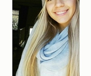 beautiful girl, blond hair, and me image