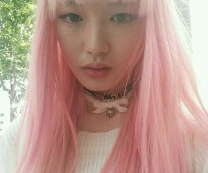 asian and pink image