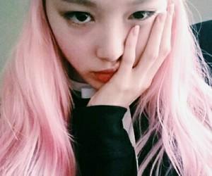 pink, ulzzang, and asian image