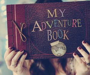 adventure, book, and cool image