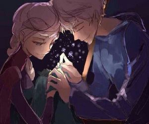jelsa, elsa, and cute image