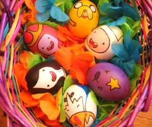 adventure time, easter, and eggs image