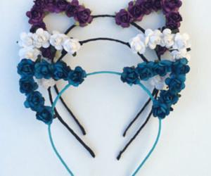 beautiful, blue, and fashion style image