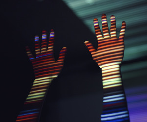 body, colours, and hands image