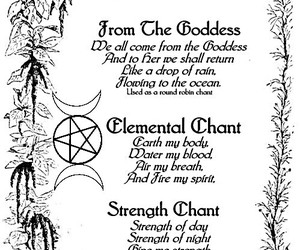 witchcraft, witch, and wicca image