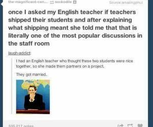 english, funny, and ship image
