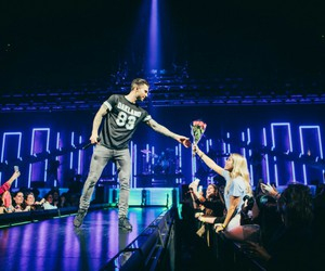 flowers, maroon 5, and adam levine image