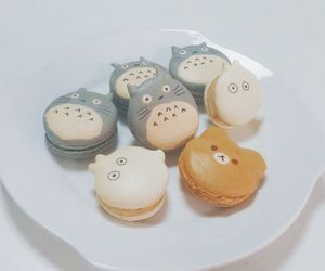 totoro, food, and kawaii image