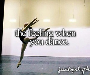 dance, ballet, and feeling image