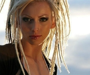 dreads, hair, and blonde image