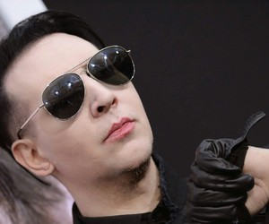 rock and Marilyn Manson image