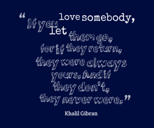 quote, love, and lettinggo image